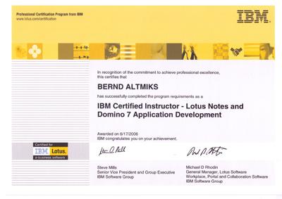 Best Certified Lotus Instructor